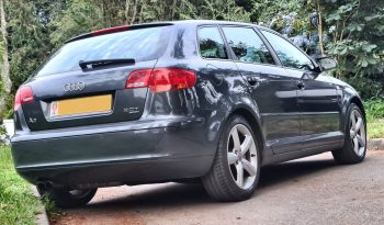 SOLD  AUDI  A3 2.0 T Sportback Quattro 5 door hatchback  £5995 full