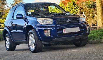 TOYOTA RAV4 2.0 XTR DIESEL 4X4 LHD 3 door estate £4450 full