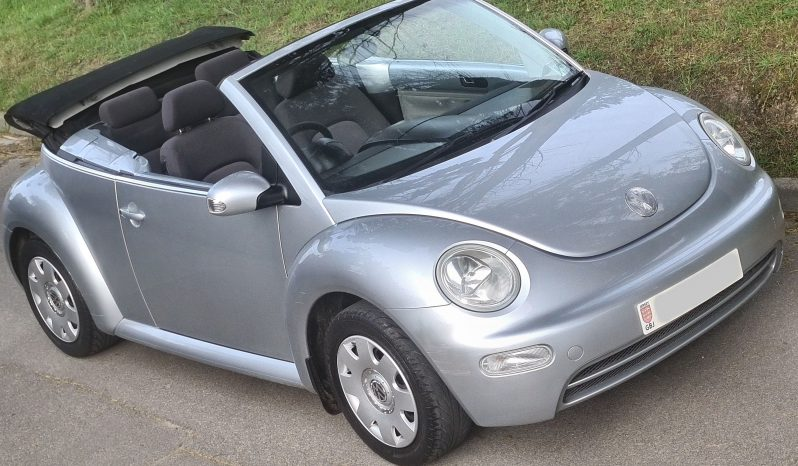 VOLKSWAGEN Beetle 1.6 Convertible £3350 full